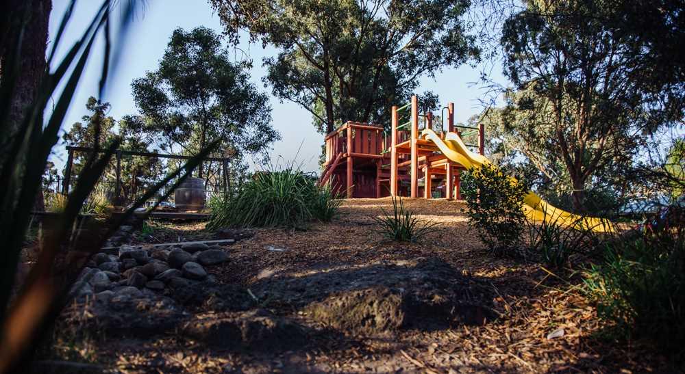 Playground, the slide
